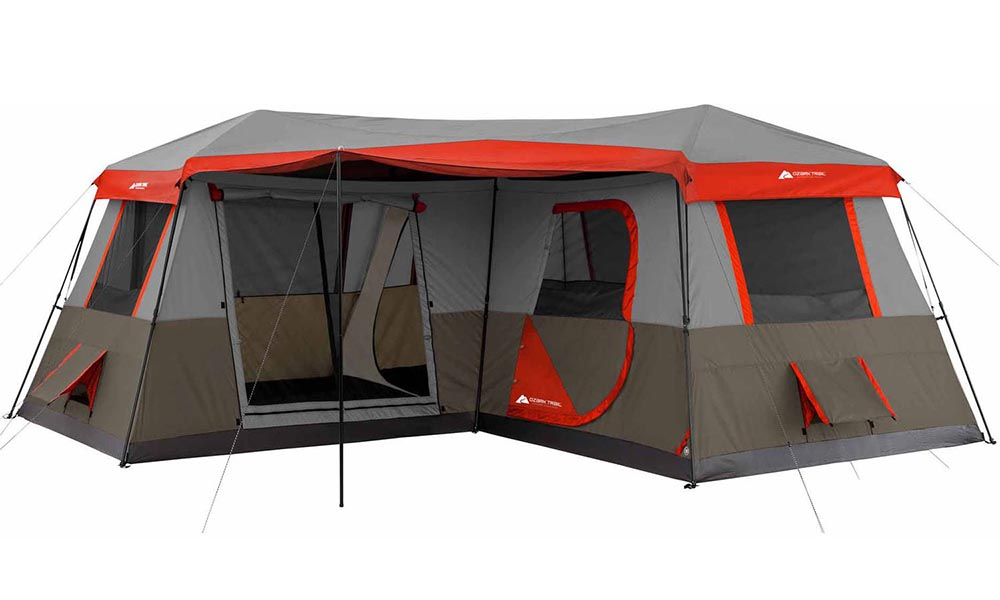 sc 1 st  Tents and C& Gear & Ozark Trail 3 Room Instant Cabin Tent Review | TentsAndCampGear.com