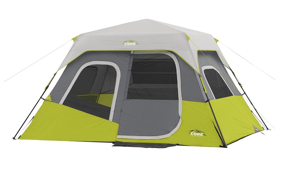 Core 6 Person Cabin Tent Review With Instant Collapsible