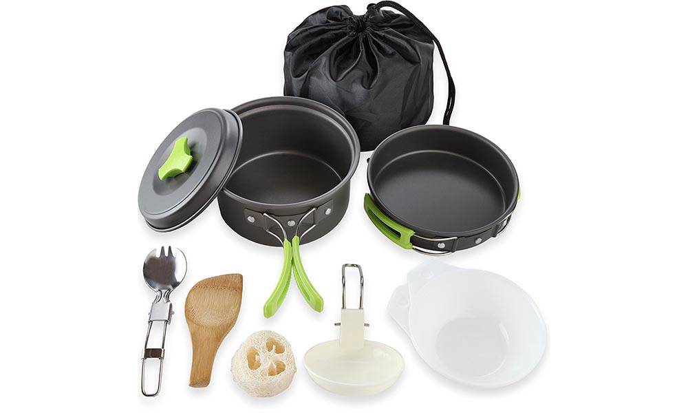 Mallome Camping Campfire Cookware Mess Kit Review